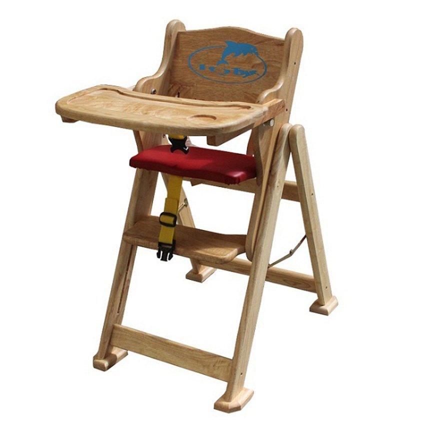 Ghế ăn bằng gỗ IQ toys
