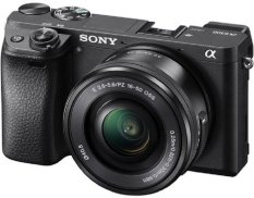 Máy ảnh Sony Alpha A6300 24MP và Lens kit 16-50 F3.5-5.6 OSS (Đen)