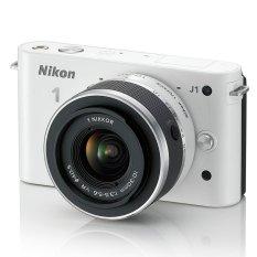 Nikon 1 J1 10.1MP với Lens kit Nikkor VR 10-30mm F3.5-5.6 (Trắng) - Hàng nhập khẩu