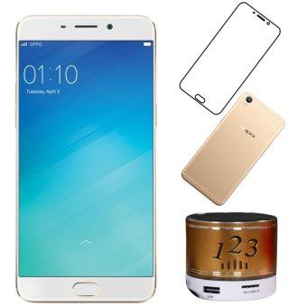 Oppo F1 Plus 64GB ( Vàng Hồng) + 1 Loa Bluetooth + 1 Ốp lưng + 1 Miếng dán màn hình