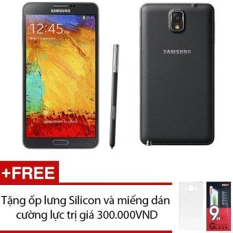 SamSung Galaxy Note 3 SM-N900 32GB (Trắng) + Tặng 1 ốp lưng Silicon và 1 miếng dán cường lực - Hàng nhập khẩu
