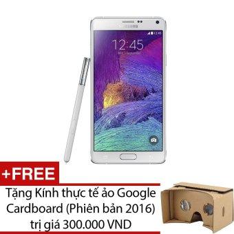 SamSung Galaxy Note 4 SM-N910 32GB (Trắng) - Hàng nhập khẩu + Tặng 1 kính thực tế ảo Google Cardboard