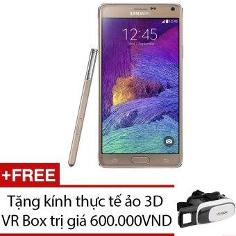 SamSung Galaxy Note 4 SM-N910 32GB (Vàng đồng) + Tặng 1 kính thực tế ảo 3D VR Box