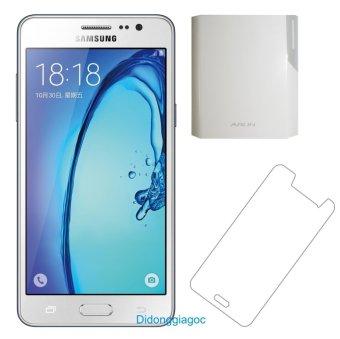 Samsung Galaxy On5 8GB (Trắng) + Dán cường lực + Sạc dự phòng Arun 10.000 mAh - Hàng nhập khẩu
