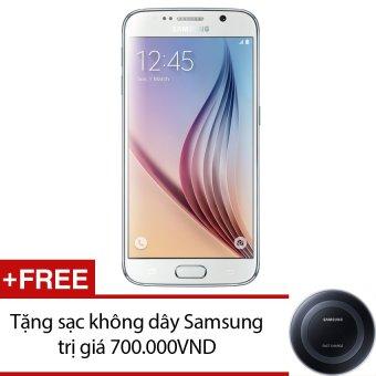 SamSung Galaxy S6 32GB (Trắng) - Hàng nhập khẩu + Tặng sạc không dây Samsung