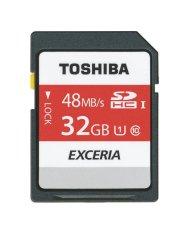Thẻ nhớ SDHC Toshiba EXCERIA Class 10 48MB/S 32GB (Đen)