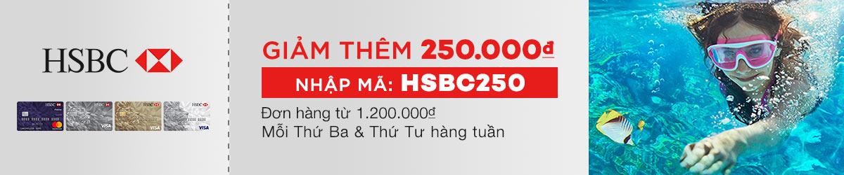 Mã Giảm Giá HSBC Tháng 6/2017