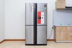 [Trả góp 0%]Tủ lạnh Sharp Inverter 626 lít SJ-FX631V-SL