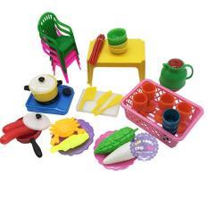 Bộ đồ chơi đồ hàng bàn ghế nấu ăn bằng nhựa Vĩnh Phát – ĐỒ CHƠI CHỢ LỚN