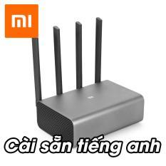 Router Wifi Xiaomi R3P Pro 4 Râu – 2 Sóng (2.4GHz & 5GHz) – Cài Sẵn Tiếng Anh