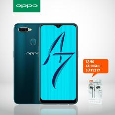 OPPO A7 64GB – Tặng tai nghe sứ TE217 – Hãng phân phối chính thức
