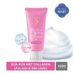 Sữa Rửa Mặt Collagen Senka Perfect Whip Collagen In 120g (code 14836)