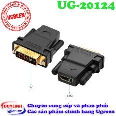 Đầu chuyển đổi DVI (24+1) sang HDMI (âm) Ugreen 20124 chính hãng