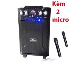 Loa vali kẹo kéo karaoke bluetooth temeisheng kiomic k29 tặng 2 microcông suất lớn