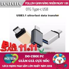 Đầu OTG chuyển đổi cổng USB Type-C chuẩn 3.0