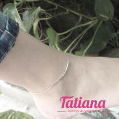 Lắc Chân Mạ Bạc Mine – Tatiana – LB2033