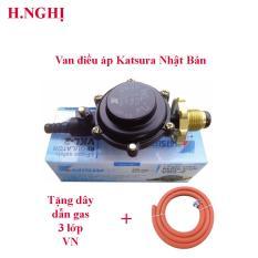 Van điều áp áp thấp Nhật Bản Katsura (japan) VKL-2 ( Đen )