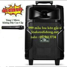 Loa kéo bluetooth karaoke Temeisheng k108 tặng kèm micro