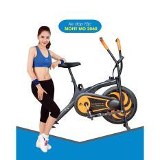 Xe đạp tập MOFIT MO-2060 New 2017 (đen phối cam)