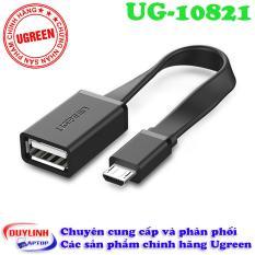 Dây cáp Micro USB OTG dẹt chinh hãng Ugreen 10821