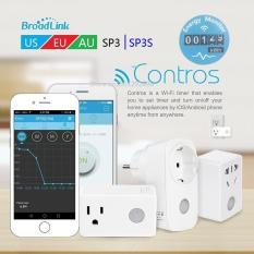 Ổ cắm thông minh WiFi Broadlink SP3 phiên bản thị trường Mỹ và Châu Âu – Nhà Thông Minh