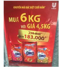 Bột giặt Omo 6kg bán giá 4,5kg