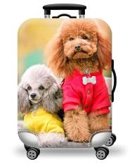 Túi bọc bảo vệ vali -Áo vỏ bọc vali – Size L-DOG HPValiOEM