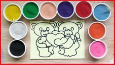Combo 5 tranh cát cho bé chơi tại nhà – Cỡ trung