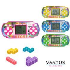 Máy Chơi Game Xếp Hình Kiểu Dáng PSP Kiêm Móc Treo Chìa Khóa