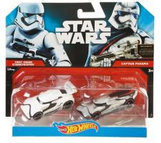 Bộ đôi xe Star Wars Stormtrooper & Captain Phasma – ĐK 8096
