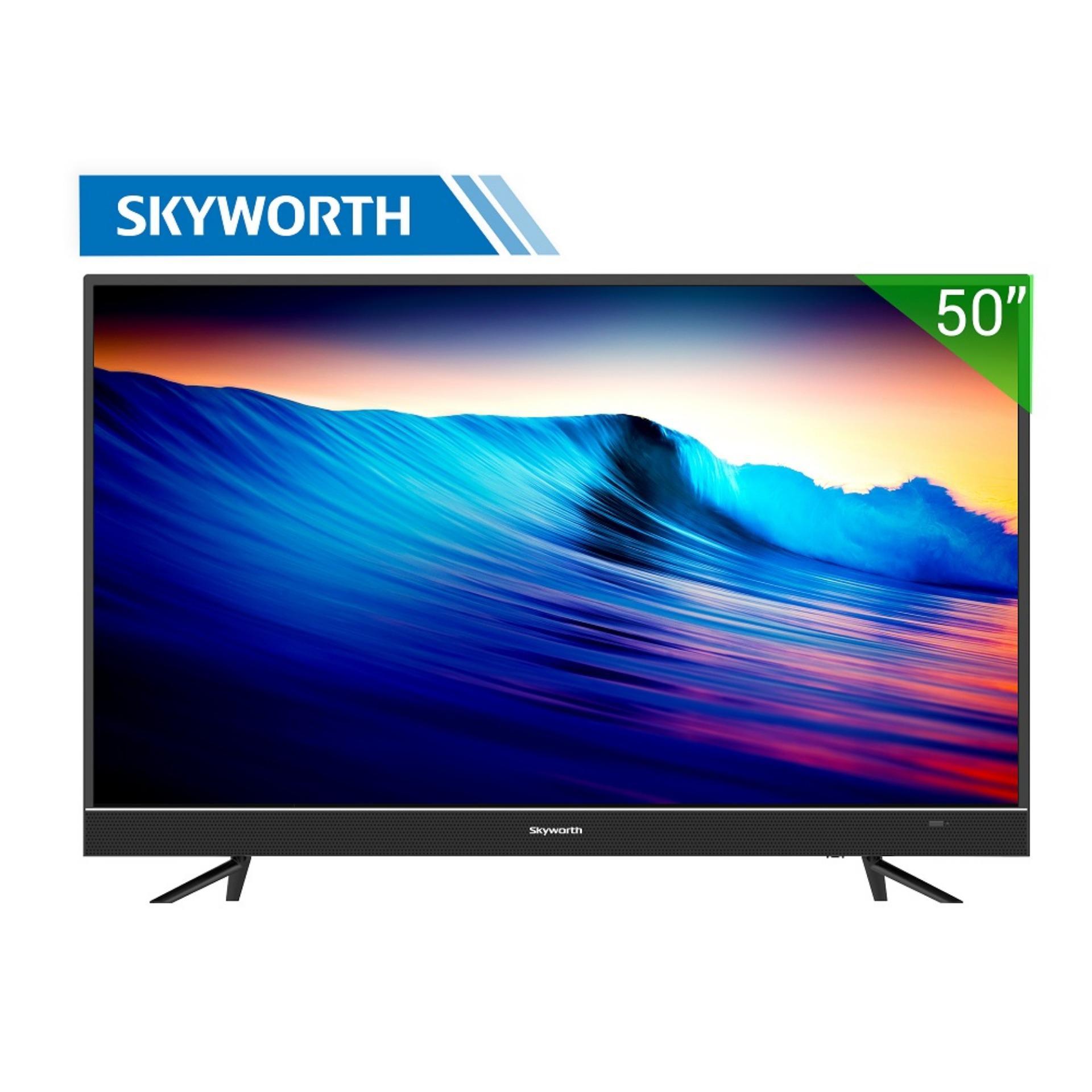 Smart TV Skyworth 50 inch 4K Ultra HD – Model 50U5 (Đen) – Hãng phân phối chính thức