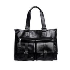 Túi da nam Varado TX04 (Đen) – Mẫu túi xách nam da thật 100%