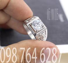 .Nhẫn Nam NN005 Trang sức nam cao cấp, Phụ kiện nam bền màu sản phẩm được bảo hành trọn đời.