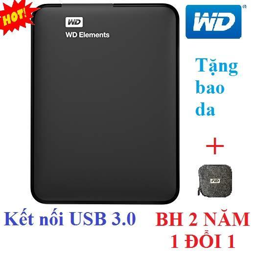 Mua Ổ cứng di động 500Gb WD Elements (đen) – Hàng nhập khẩu Tại Nam Dũng PC