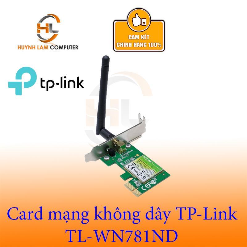 Card mạng WiFi TPLink TL-WN 781ND FPT phân phối