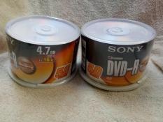 Đĩa DVD trắng Sony, 1 hộp 50 đĩa