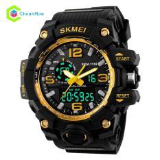 Đồng hồ Nam Skmei 1155 Dual Time Kim Điện Tử HOT 2019 – Mã: DHA440