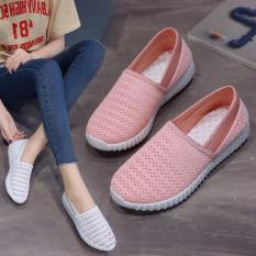 Giày Slip-On Nữ 3Fashion Shop Vải Len Móc Chắc Chắn Lạ Mắt – 3165