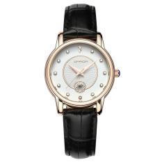 Đồng hồ nữ SANDA Japan Movt dây da cao cấp P198