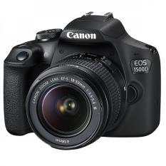 Canon EOS 1500D kit 18-55mm – Màu đen (Hàng Canon Lê Bảo Minh)-Tặng khoá học nhiếp ảnh EOS + Thẻ SD 16GB + Túi