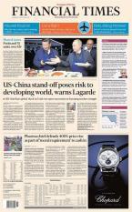 Báo giấy Financial Times – 12 September 2018