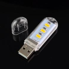 Đèn LED 3 bóng cổng USB