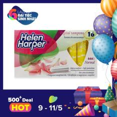 Băng Vệ Sinh Helen Harper TAMPON- NORMAL 16 Miếng Dùng Bên Trong