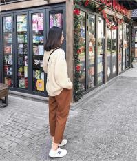 Quần Kaki Lưng Thun Nữ Trẻ Trung Thời Trang HHH WM QUAN 800027