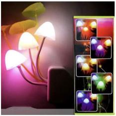 Đèn Ngủ Cảm Ứng Ánh Sáng Hình Cây Nấm