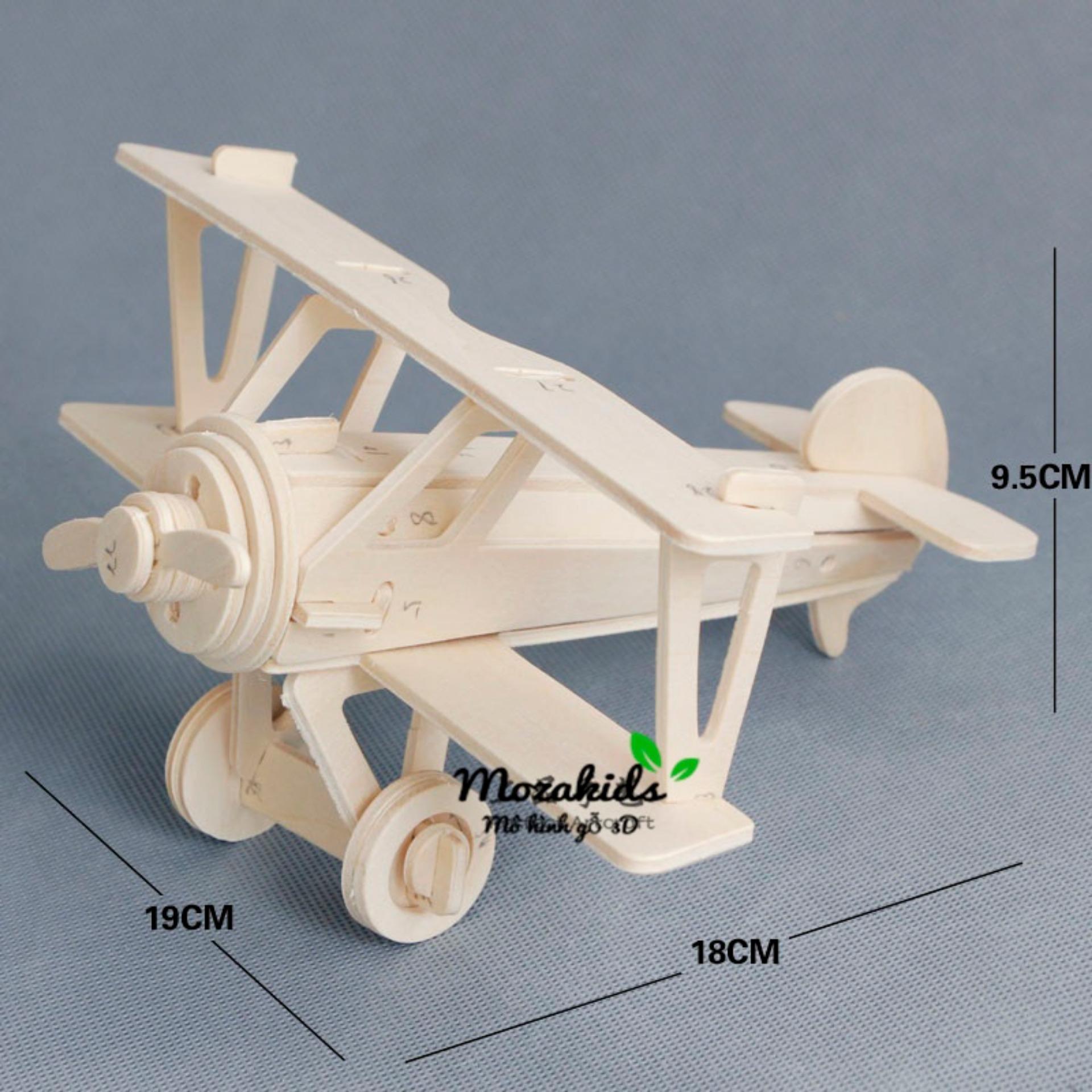 Đồ chơi lắp ráp gỗ 3D Mô hình Máy bay NieuPort 17