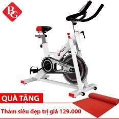 BG – Xe đạp tập thể dục Mẫu 401 (Trắng)