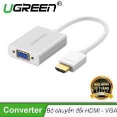 Bộ chuyển tín hiệu HDMI sang VGA kèm theo âm thanh dài 15CM UGREEN MM102 40212 – Hãng phân phối chính thức