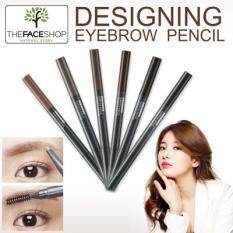 Chì Kẻ Mày 2 đầu The Face Shop Designing Eyebrow Pencil – 0.3g