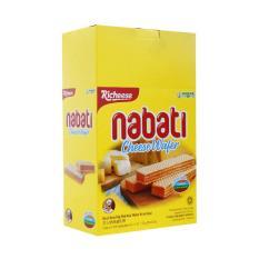 Bánh xốp Nabati nhân kem phô mai 170g (20 gói)
